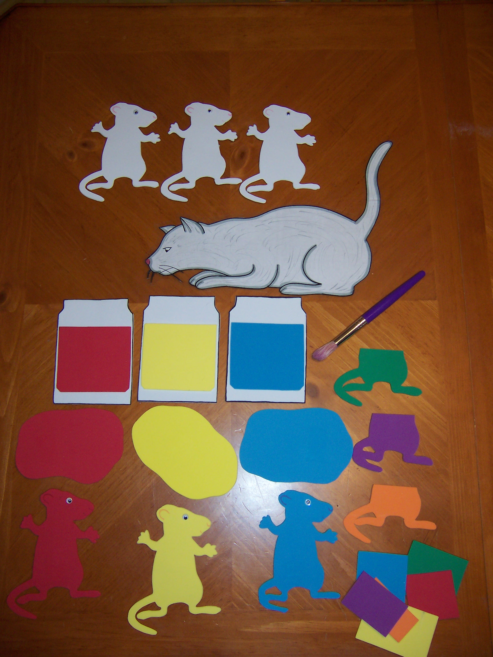 Mouse Paint | Recipes for Reading