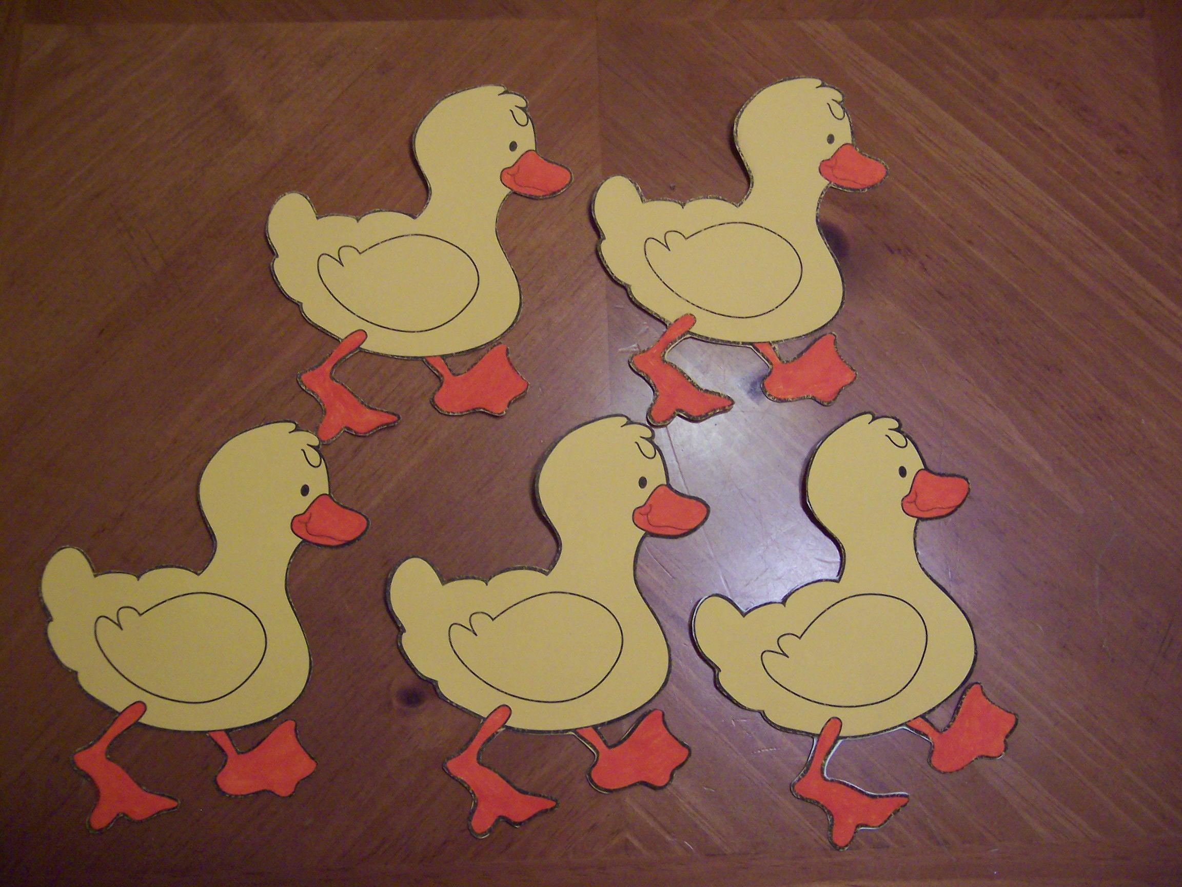 five little ducks flannel board | Recipes for Reading