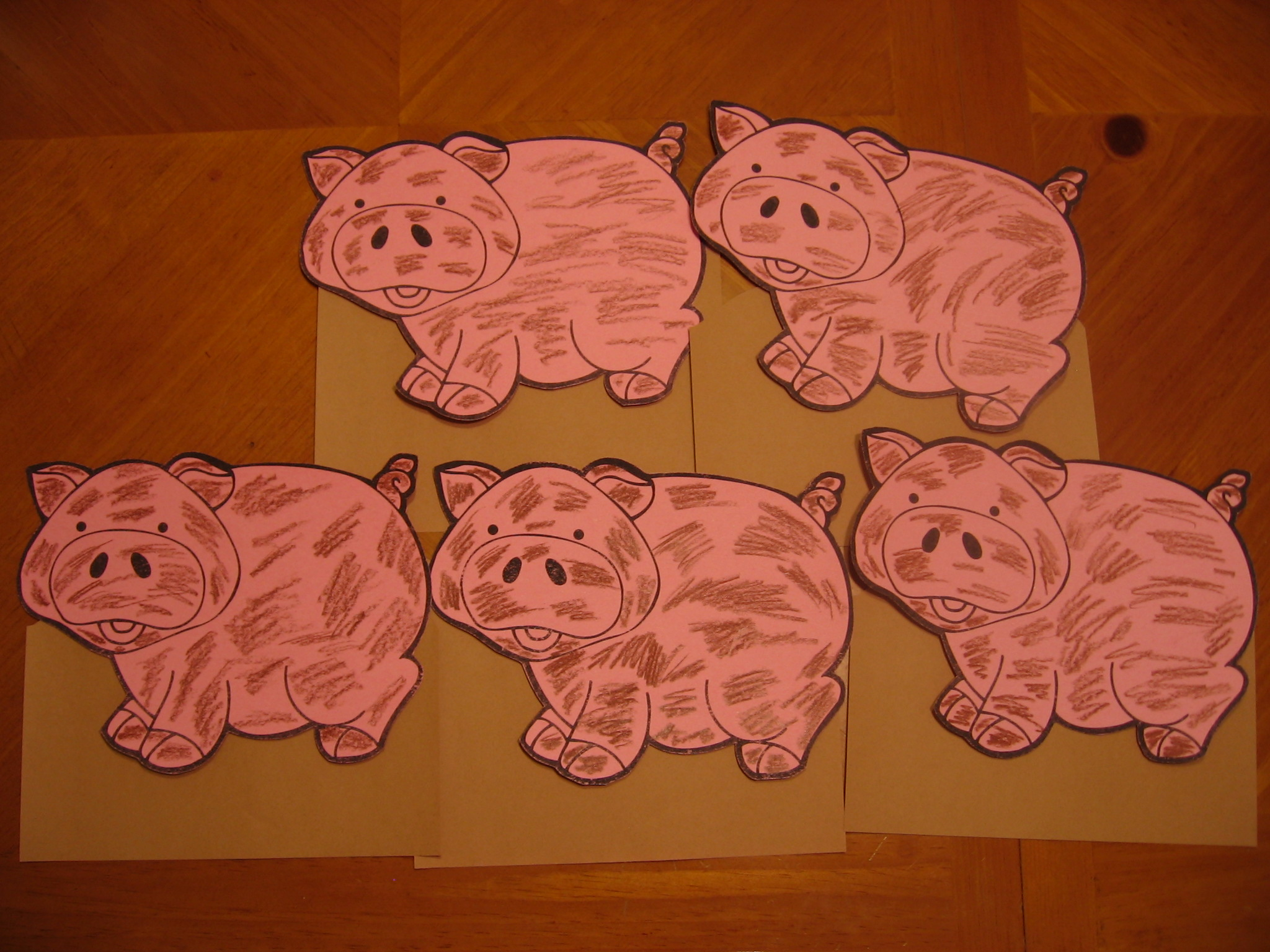 pig template for preschoolers - 301 moved permanently